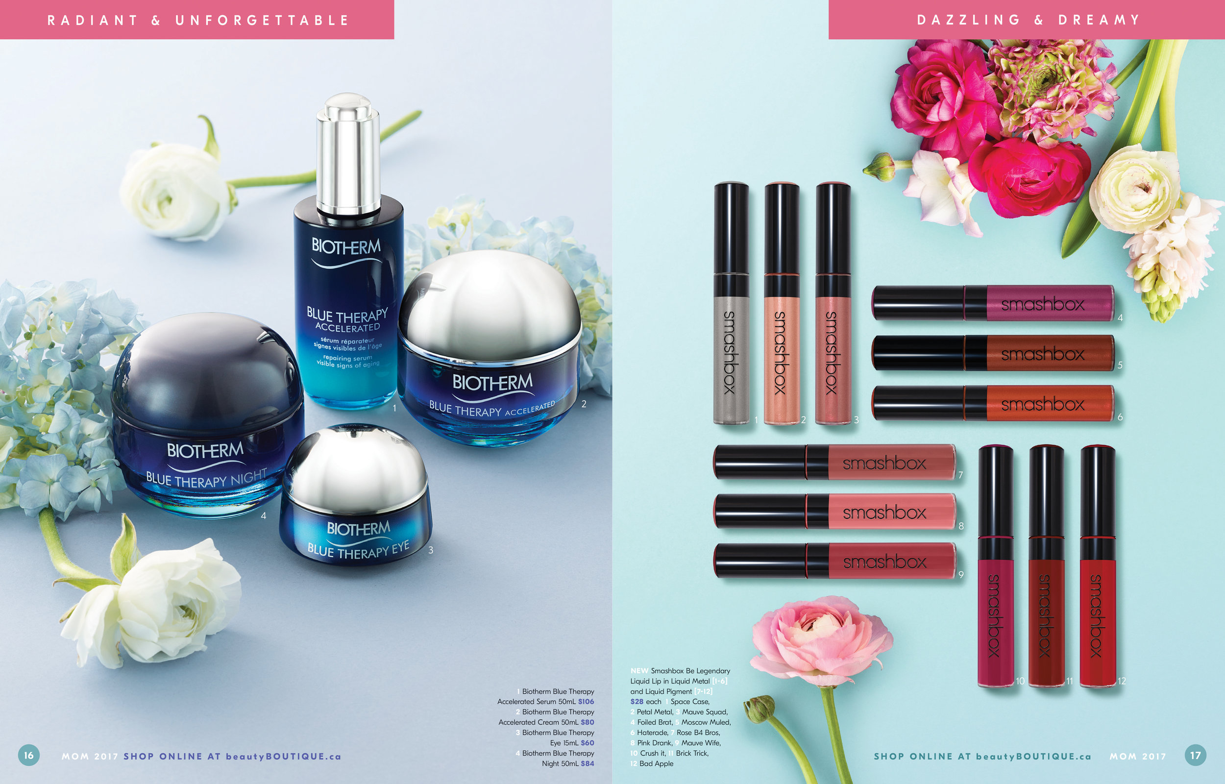 Shoppers Drug Mart Mother's Day 2017 Gift Guide Sample Spread 2