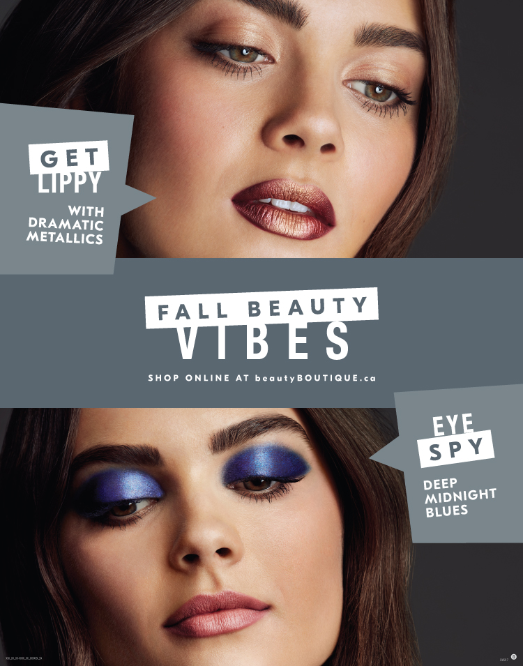 Shoppers Drug Mart Fall Beauty 2017 Tstand 22 x 28