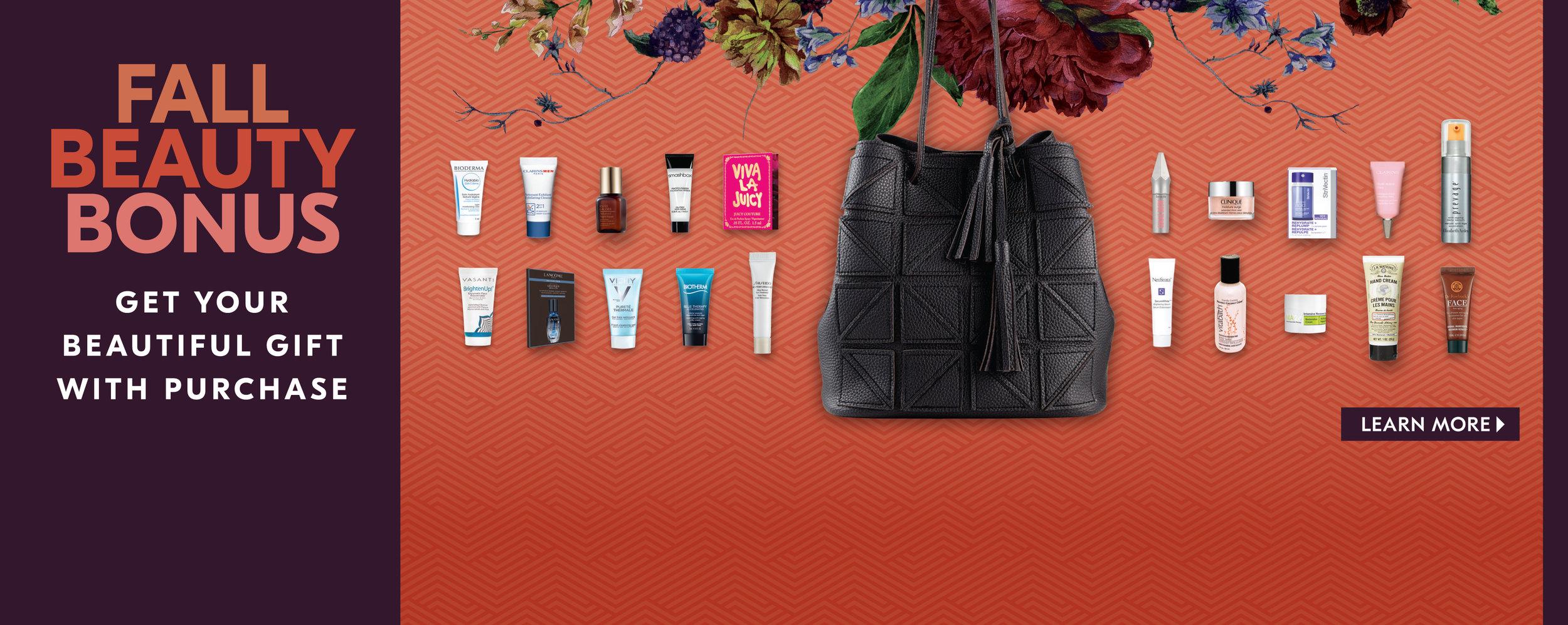 Shoppers Drug Mart Fall 2017 Fall Beauty Bonus Hero Slider 940px x 375px