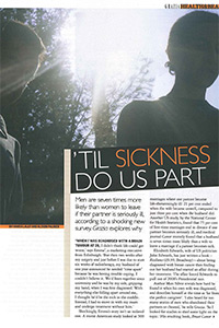 Grazia   'Til sickness do us part'