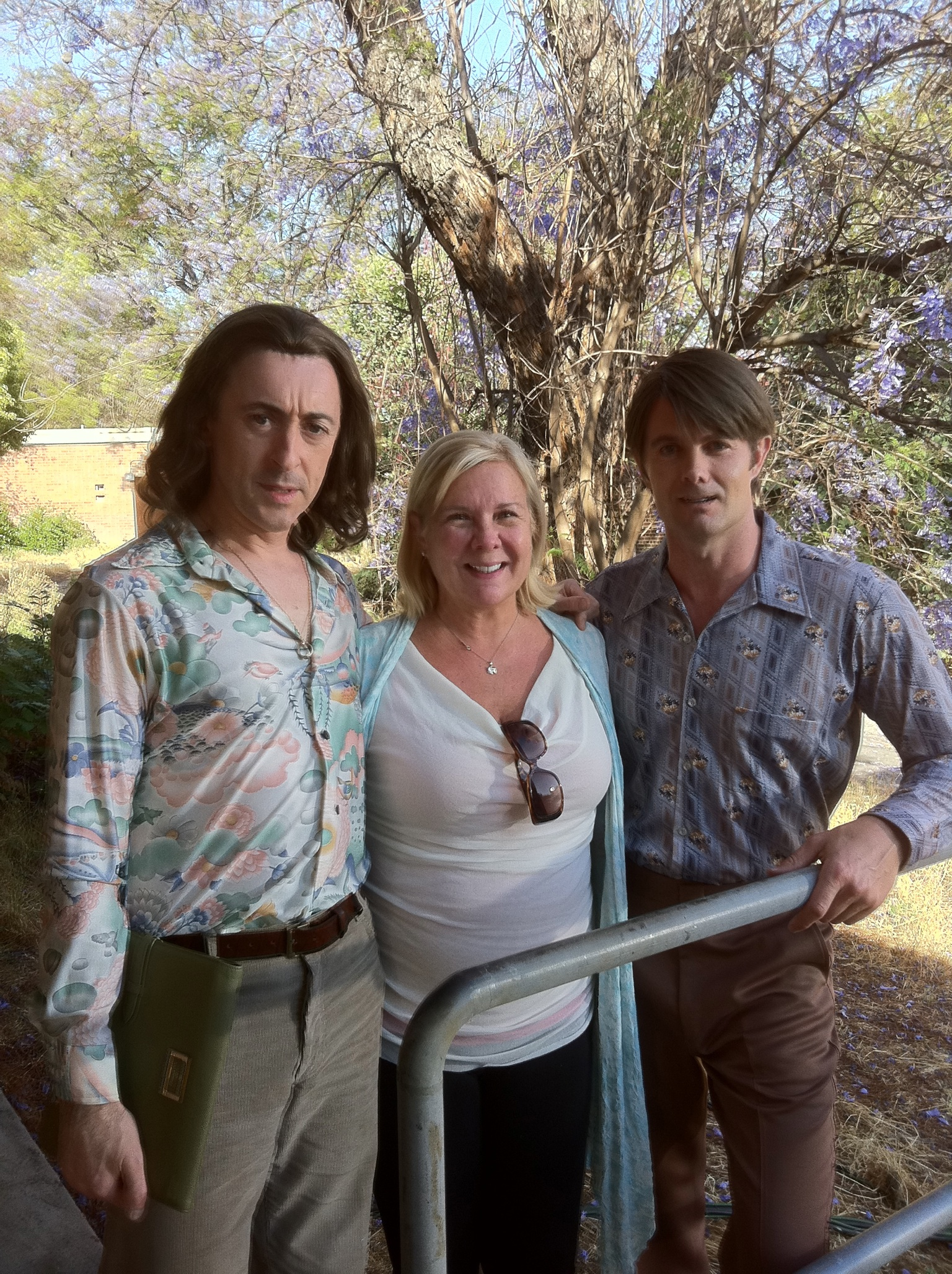 Alan Cumming, Anne O'Shea, Garrett Dillahunt - Set of Any Day Now.JPG