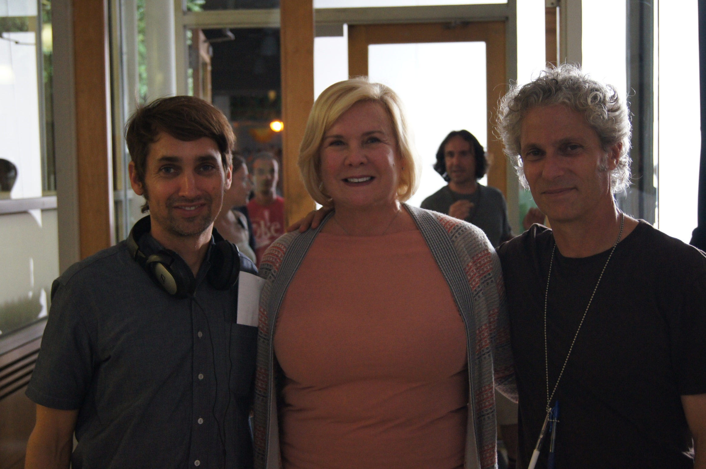 Anne O'Shea with What Maisie Knew Directors (David Siegel & Scott McGehee).JPG