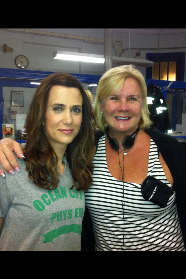 Kristen Wiig, Anne O'Shea - Set of Girl Most Likely- Final Day.PNG