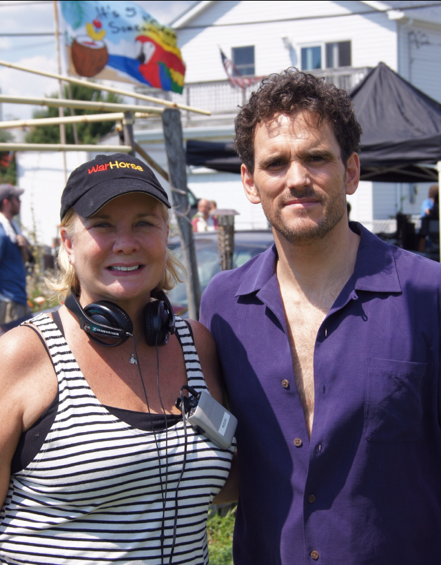 Anne O'Shea & Matt Dillon - On the set of Girl Most Likely.PNG