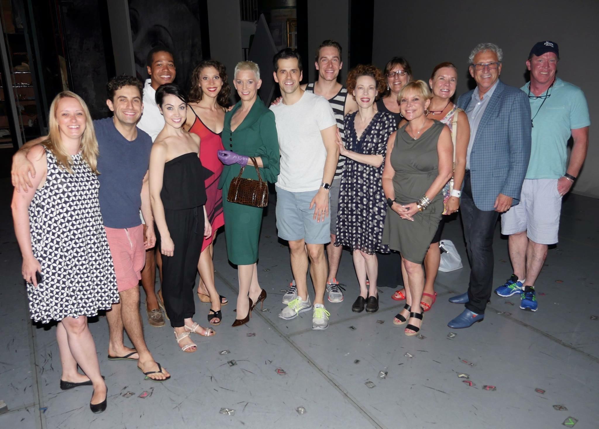 Patricia Ward Kelly (Gene Kelly's Widow) with AAIP Cast & Producers.jpg