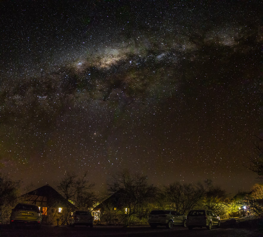 The Milky Way seen in the Kruger National Park