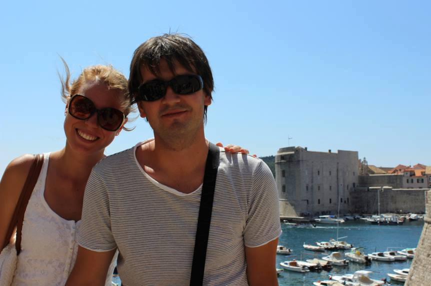 I took this picture of Elma + Miran in Dubrovnik