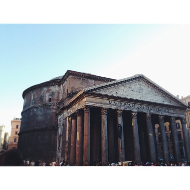 I went to  ROME .
