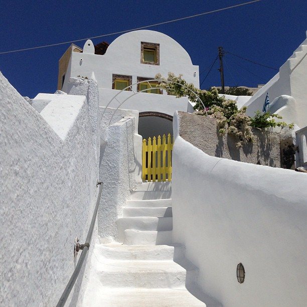 We went to  Greece !
