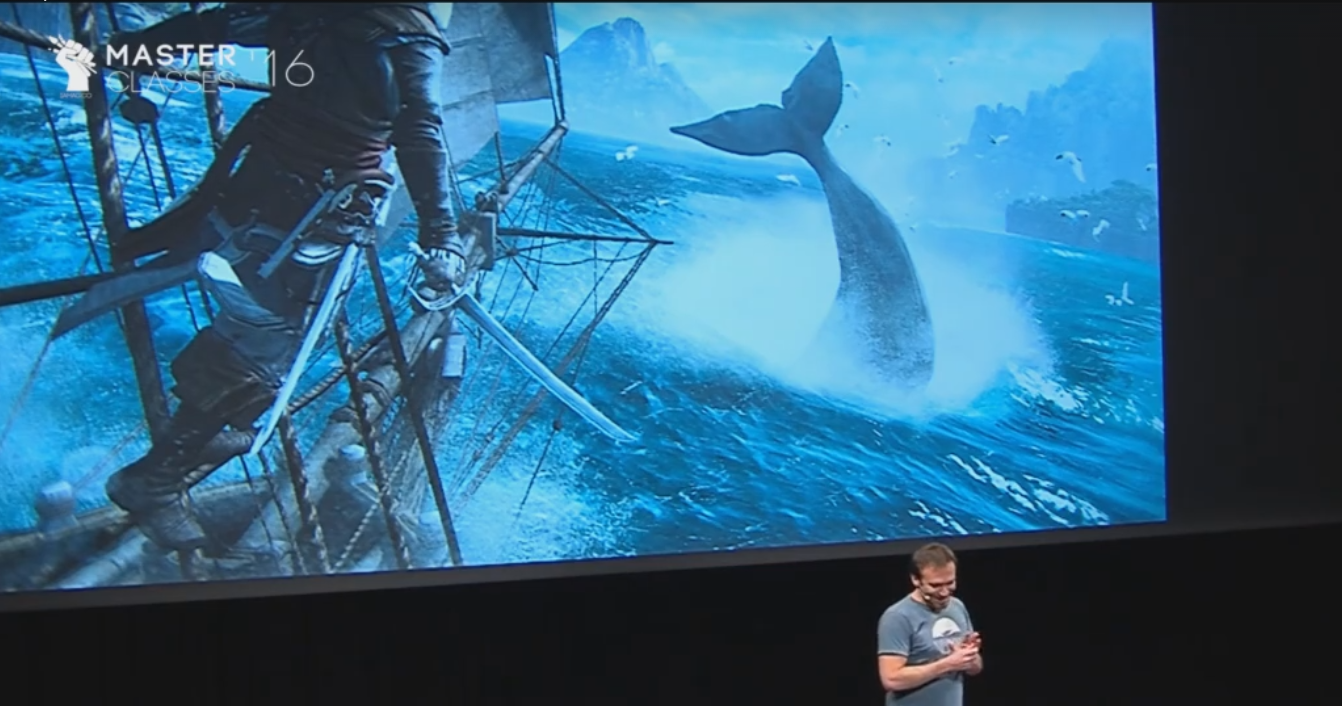 IAMAG Master Classes - www.iamag.co Raphael Lacoste on Environment Design in an Open World Video Game (Assassin's Creed)