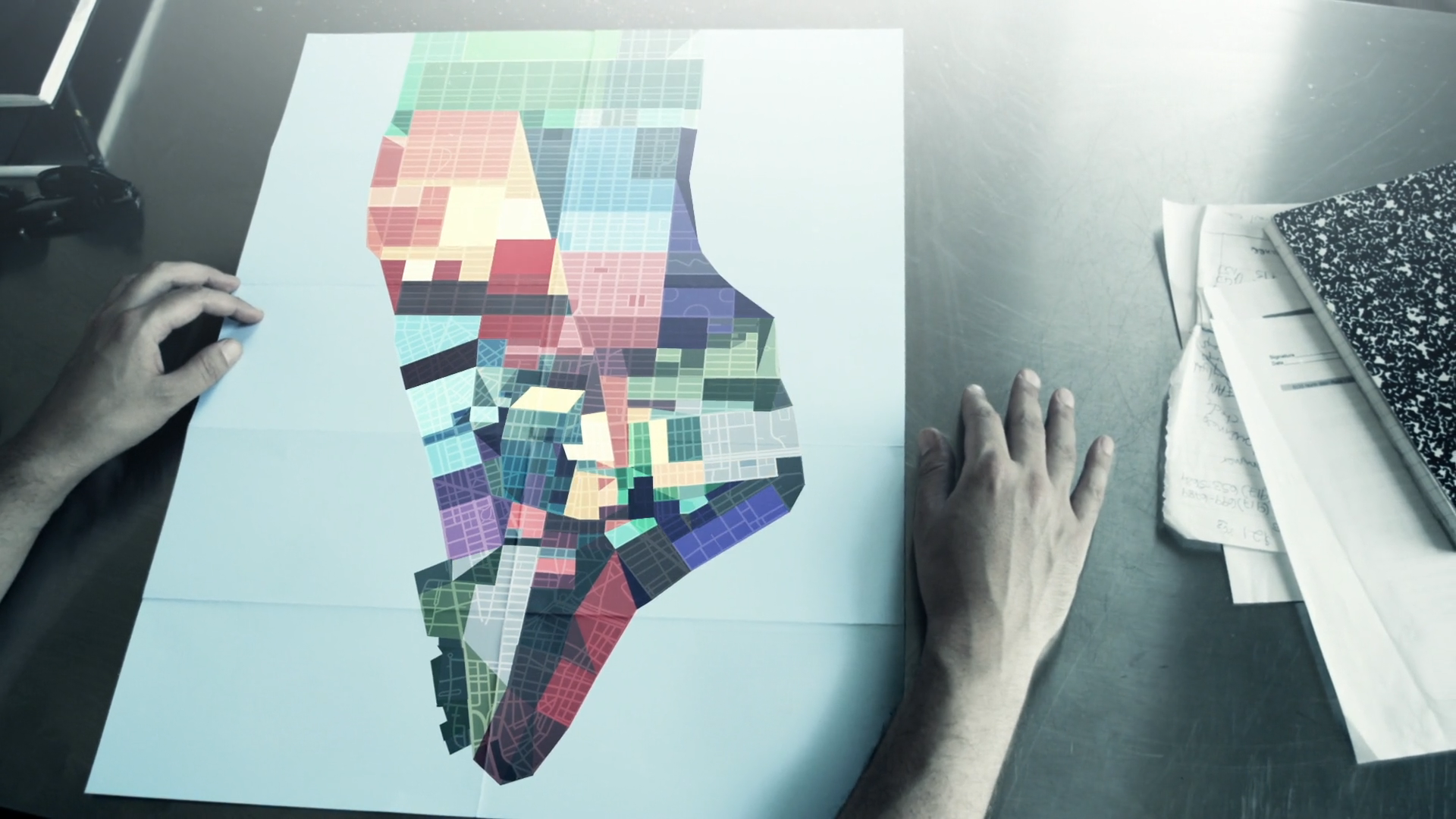 New York rearrangement via VFX: Gary Breslin: ODD