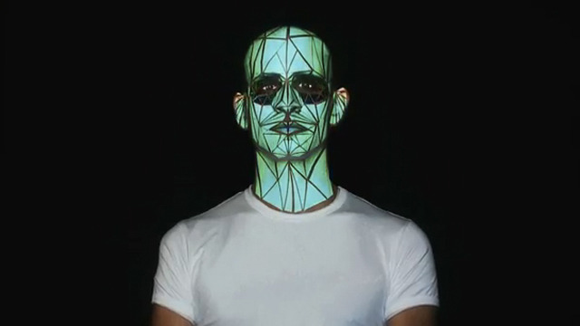 Human Face Projection Mapping: Oskar & Gaspar: Portugal