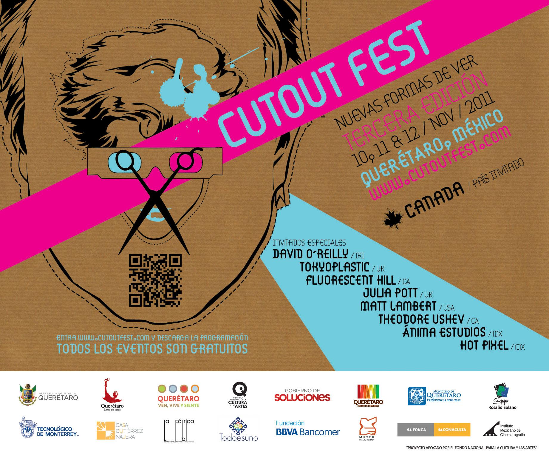 Blinkity Blank: Norman Mclaren: Cutout Fest
