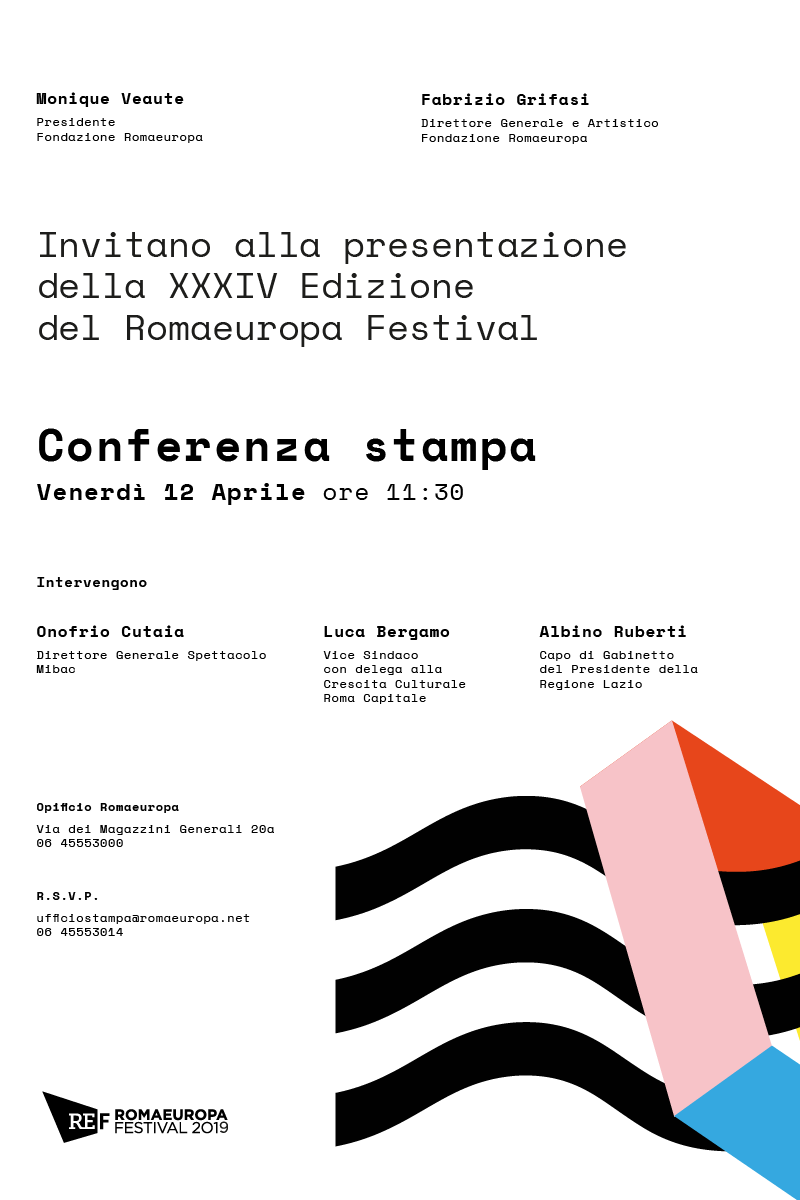 RomaEuropa Festival 2019 - The Jellyfish Act