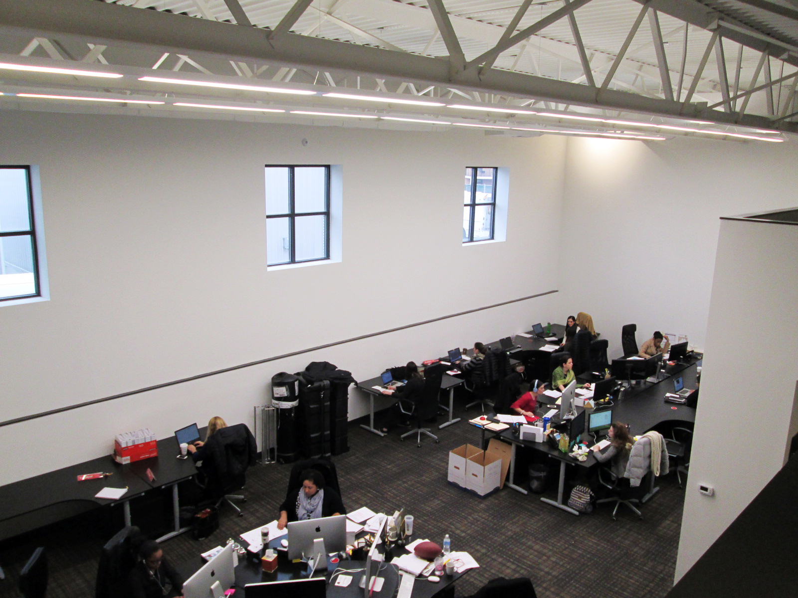 Back workspace
