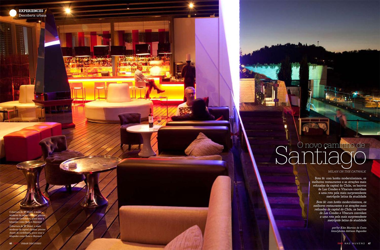 Sky Bar, W Hotel, Santiago