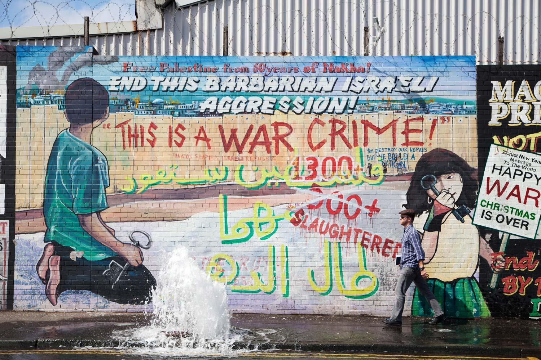 Peace Walls, Falls Road, Belfast