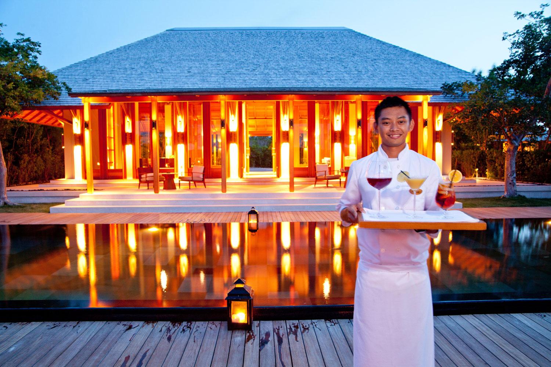 Private Villa at Amanyara Hotel