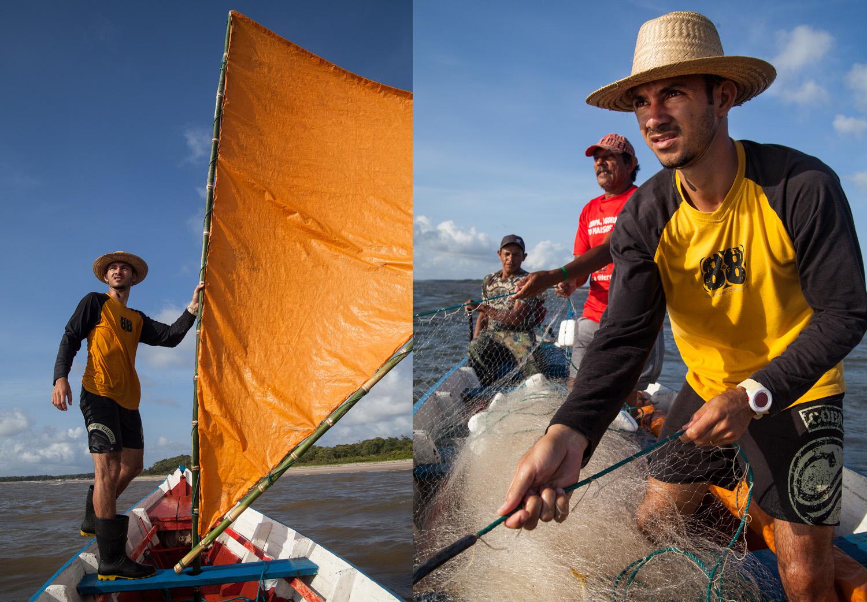 Roberto Silva, DJ and fisherman, Marajó Island