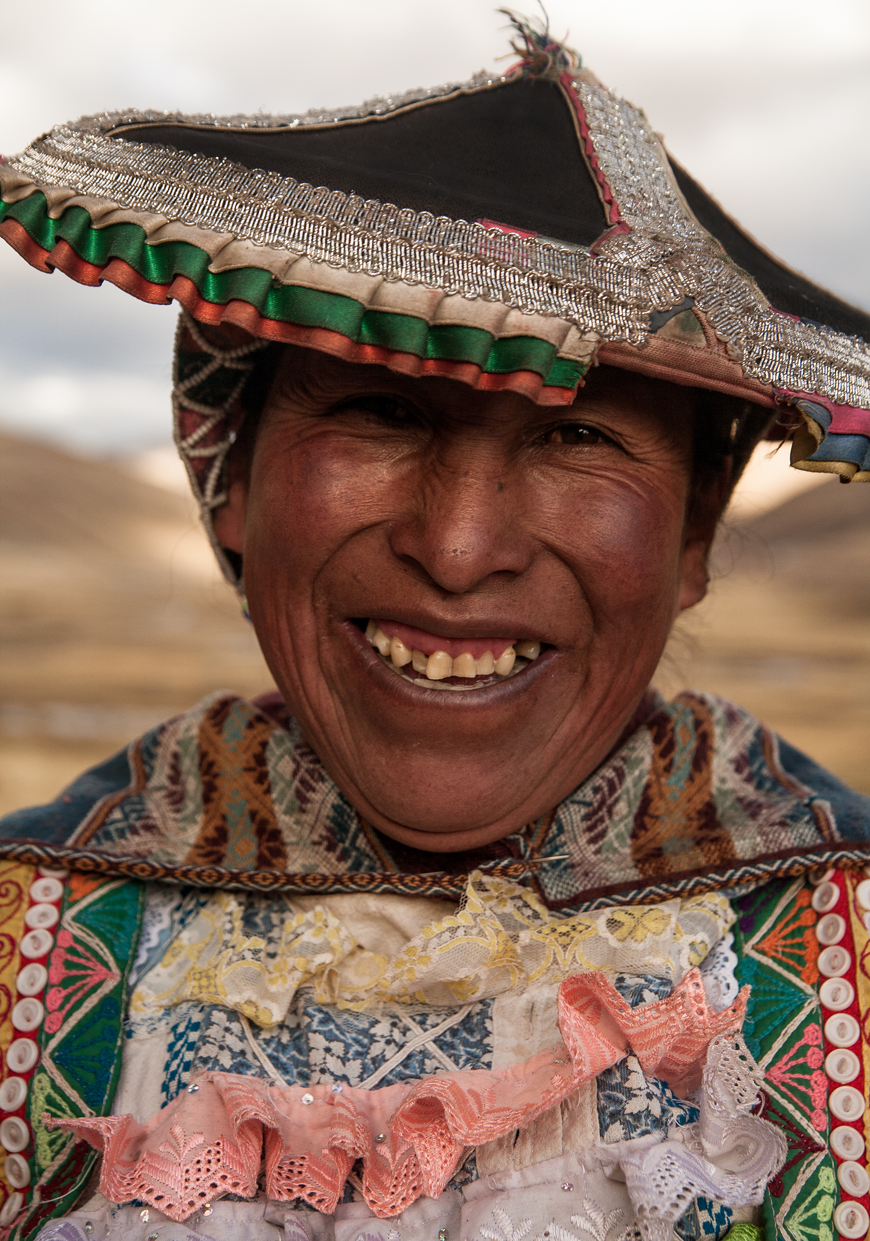 Pastor at Ausangate Valey, The Andes, Peru
