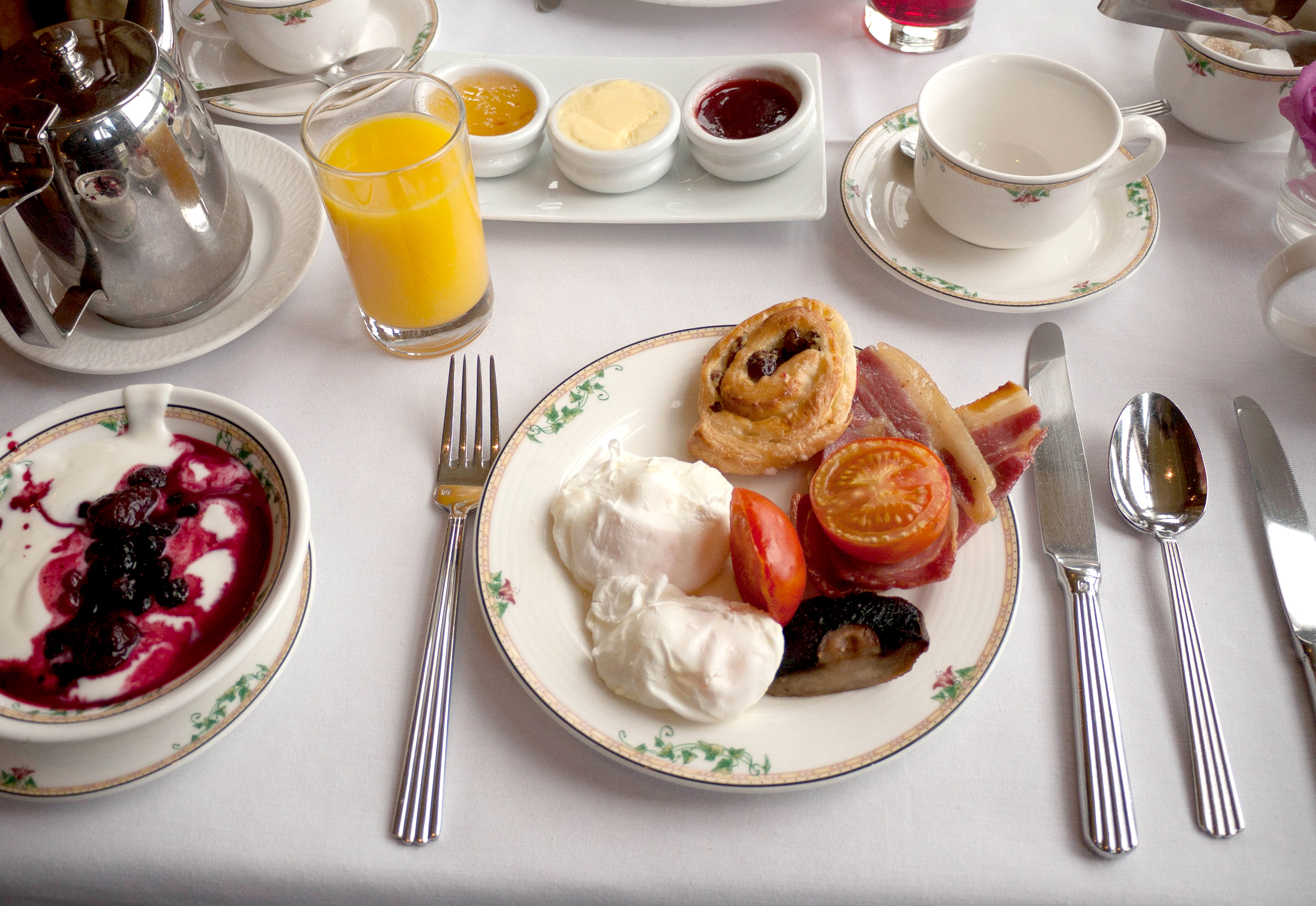 Irish Breakfast, Culloden Hotel, Belfast