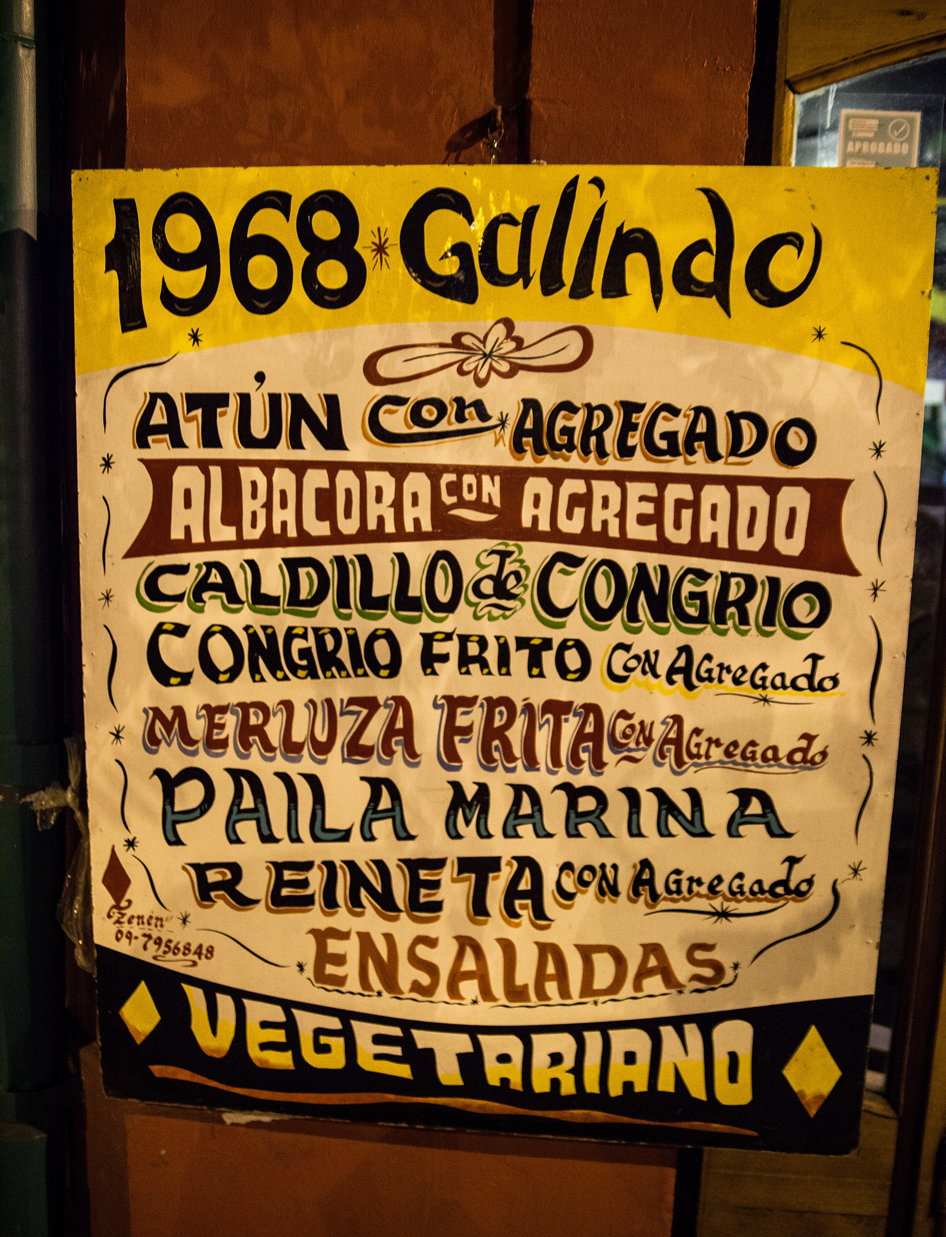 Galindo Restaurant, Bellavista, Santiago