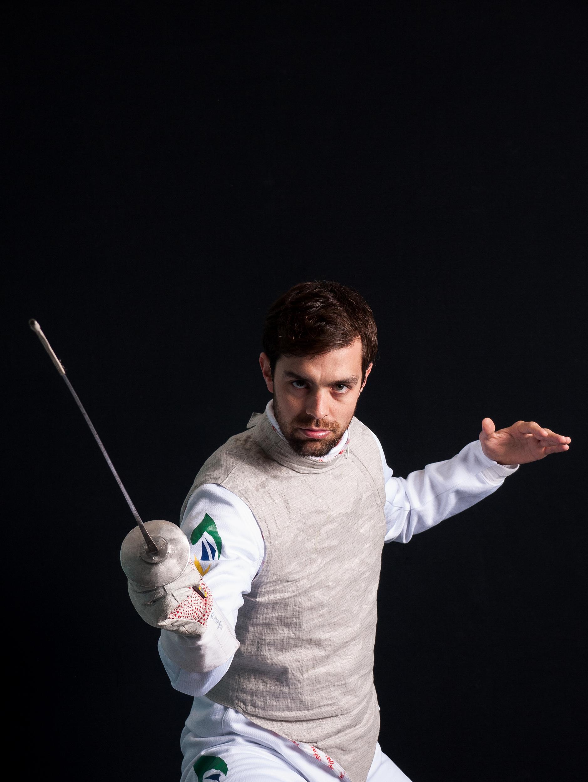 Fernando Scavasin, Fencing
