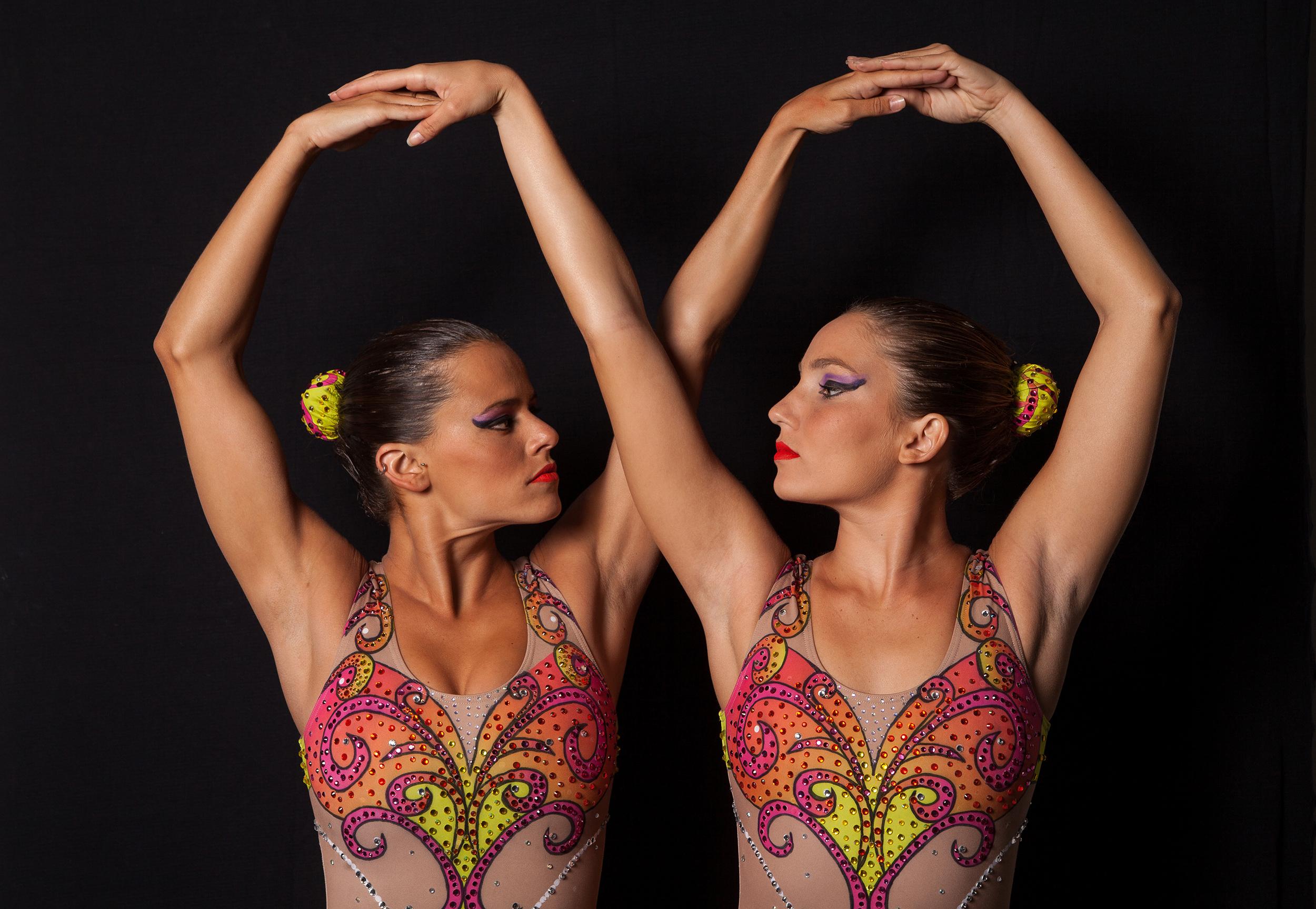 Maria Bruno & Duda Miccuci, Syncronized Swimming