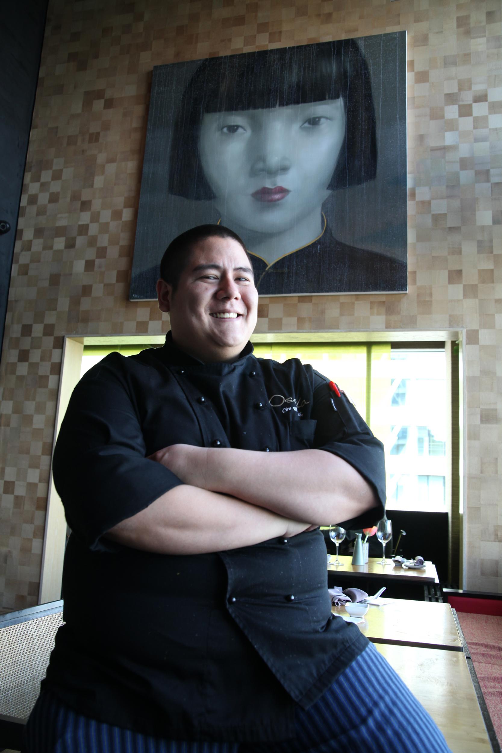 Chef Ciro Watanabe, Osaka Restaurant