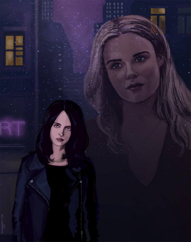 """Jessica Jones"" Painting"