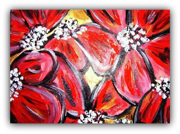 Crimson Blooms