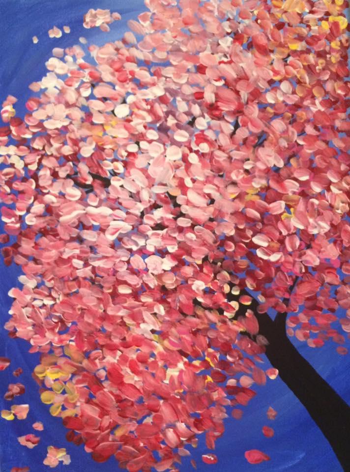 Pink Explosion Tree