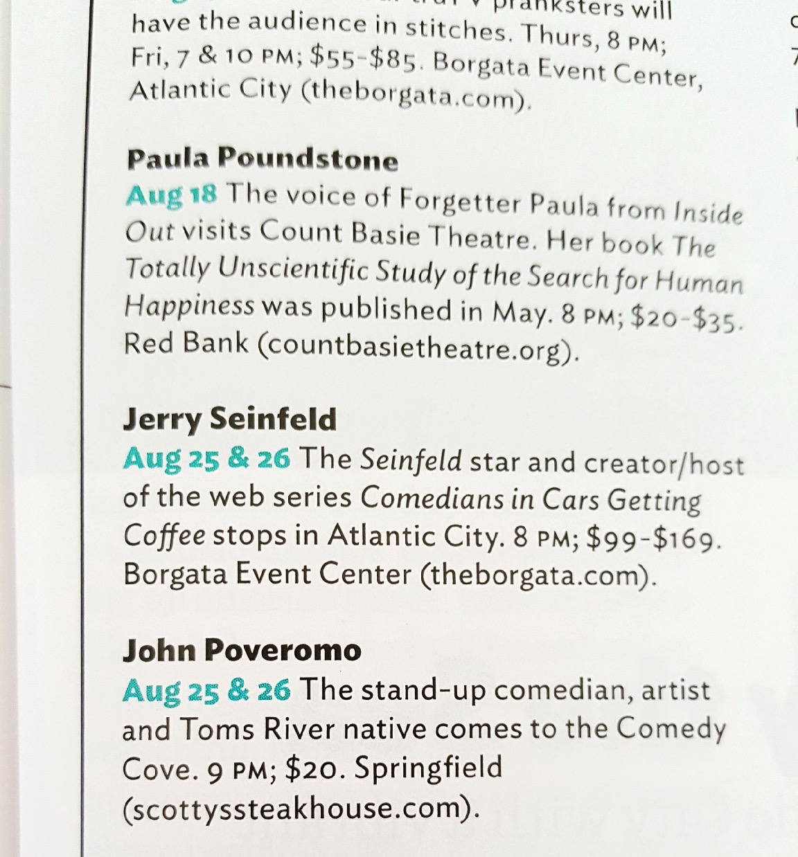Copy of Blurb in NJ Monthly Magazine