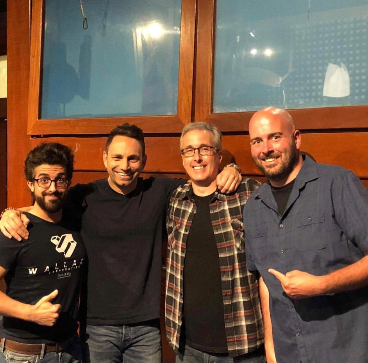 Kevin, Israel, Mike Morse, Ryan Maher!