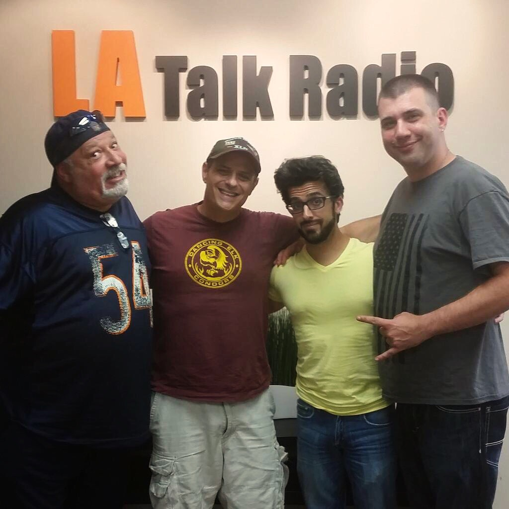 Richard Chassler and I on LA Talk Radio