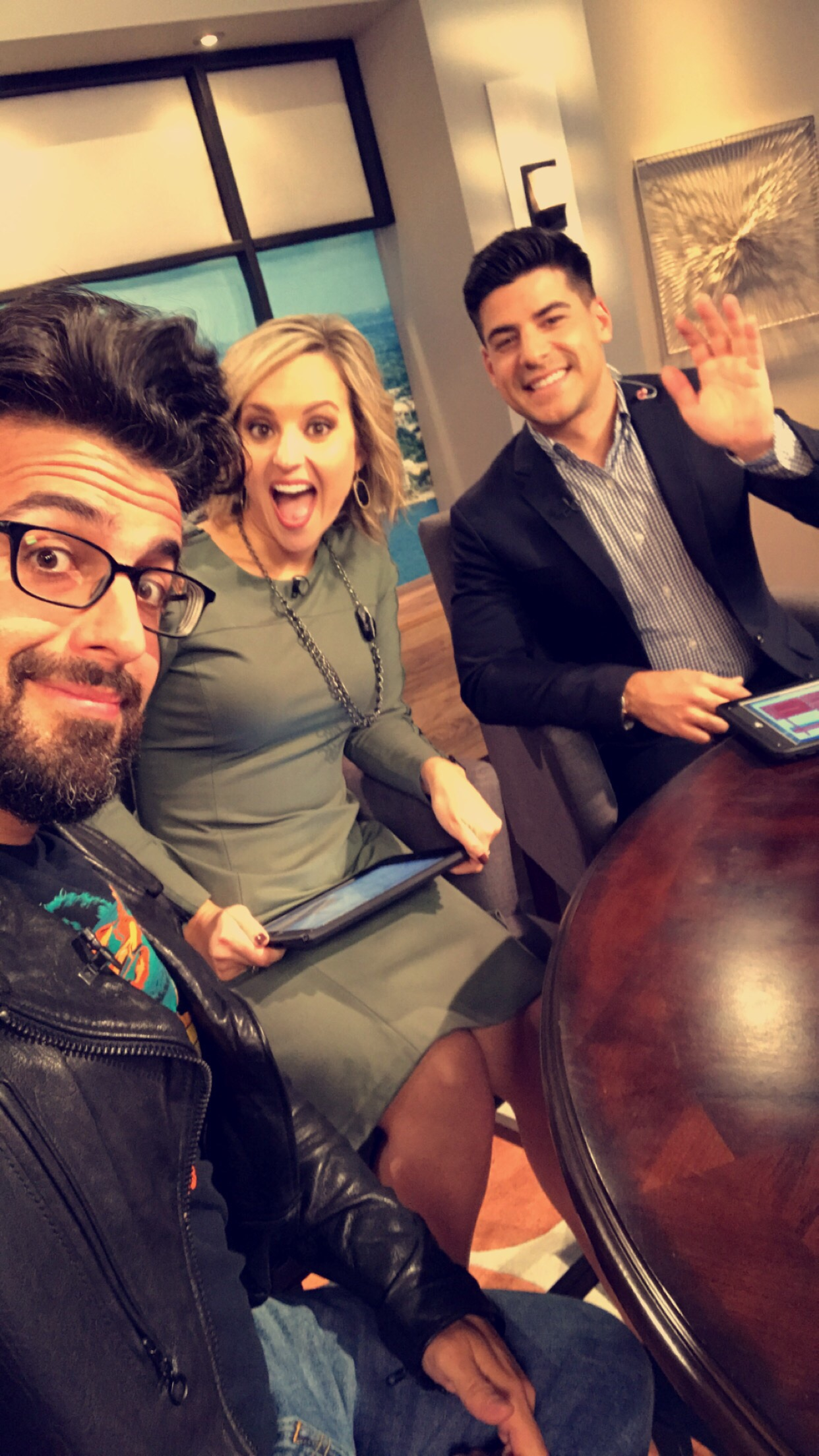 Kendal Kirkham, and Alex Miranda from Great Day Live Tampa!