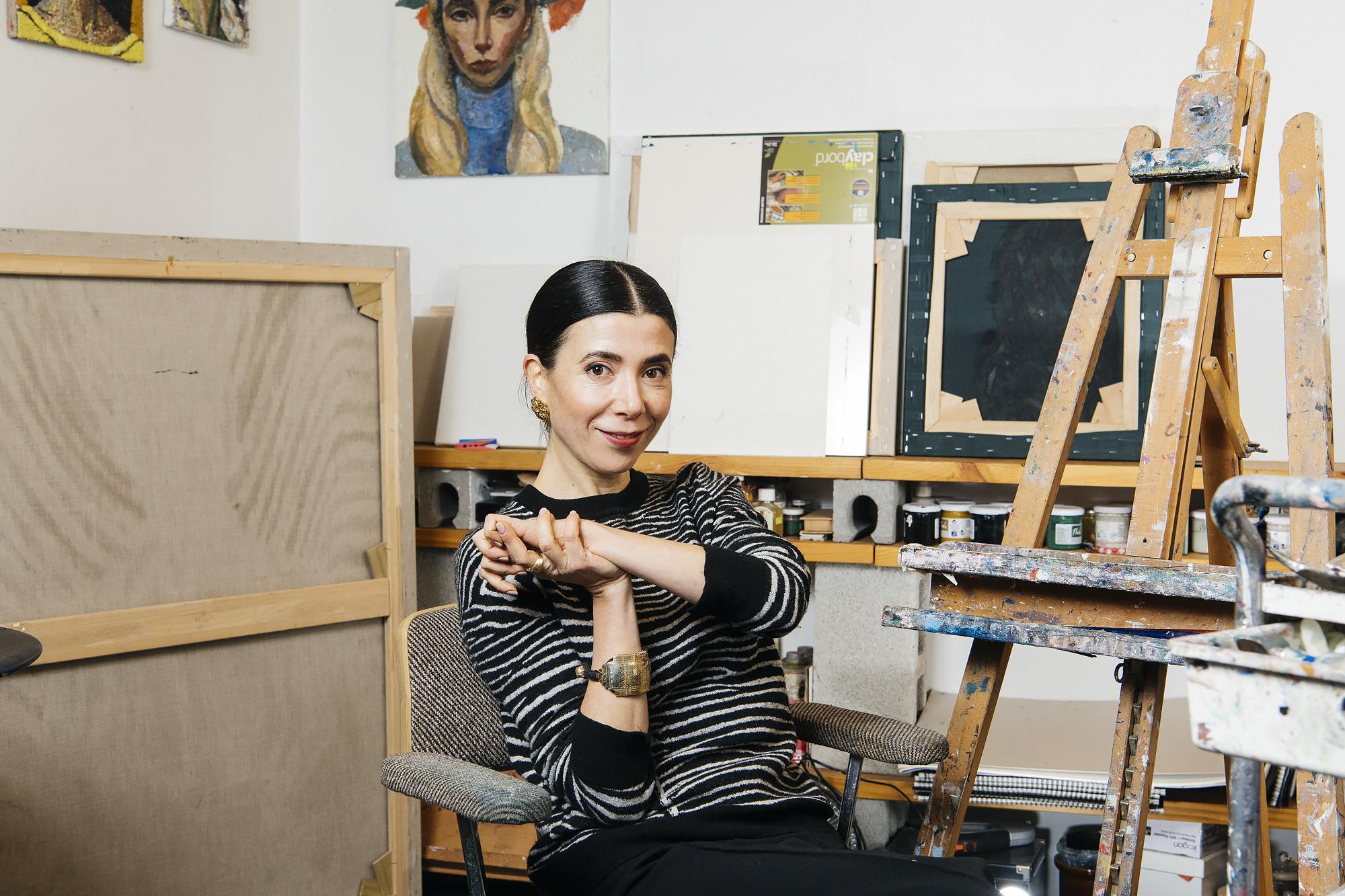 2018 Archibald Prize Winner, Yvette Coppersmith