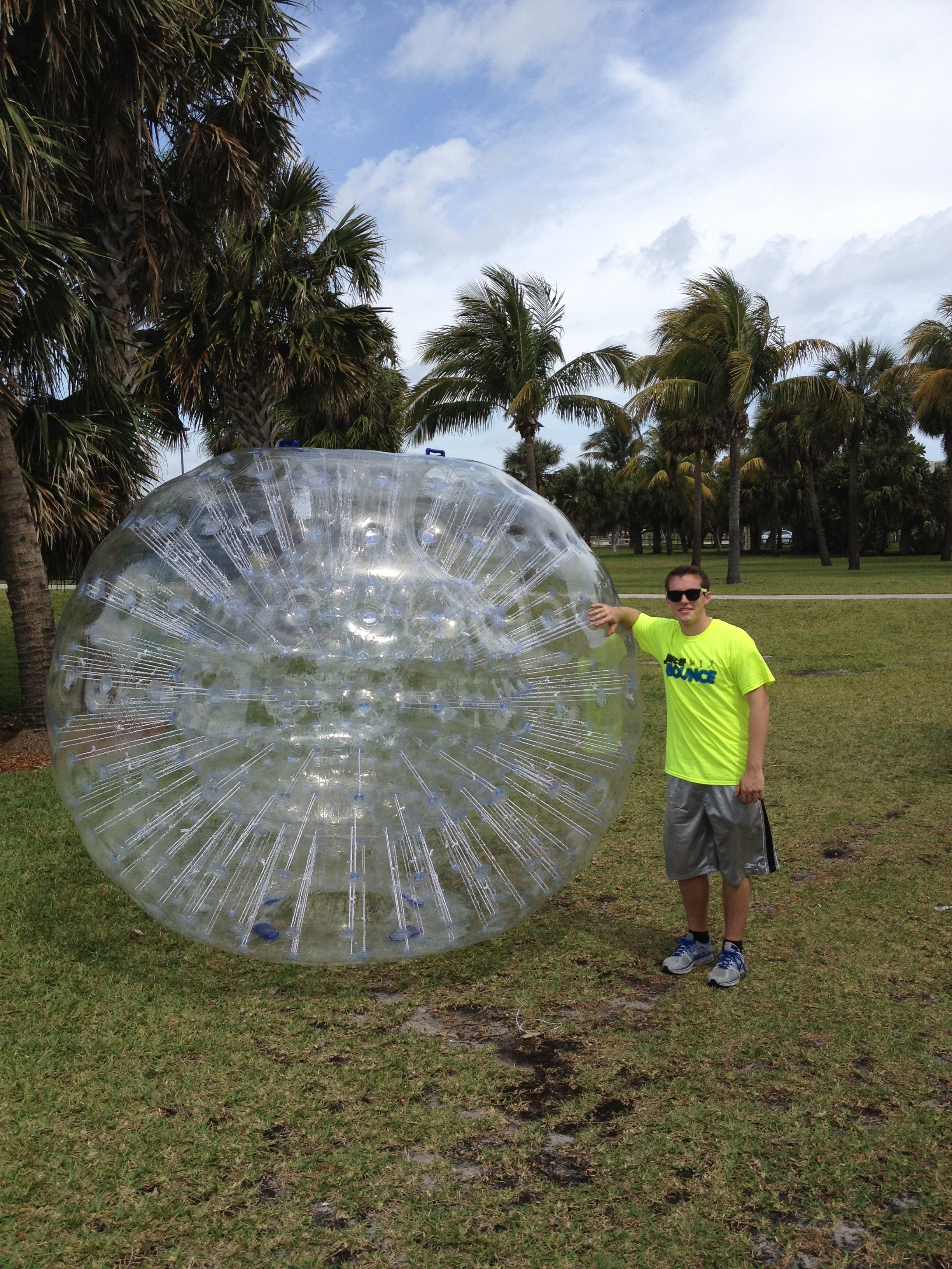 Our new hamster ball!