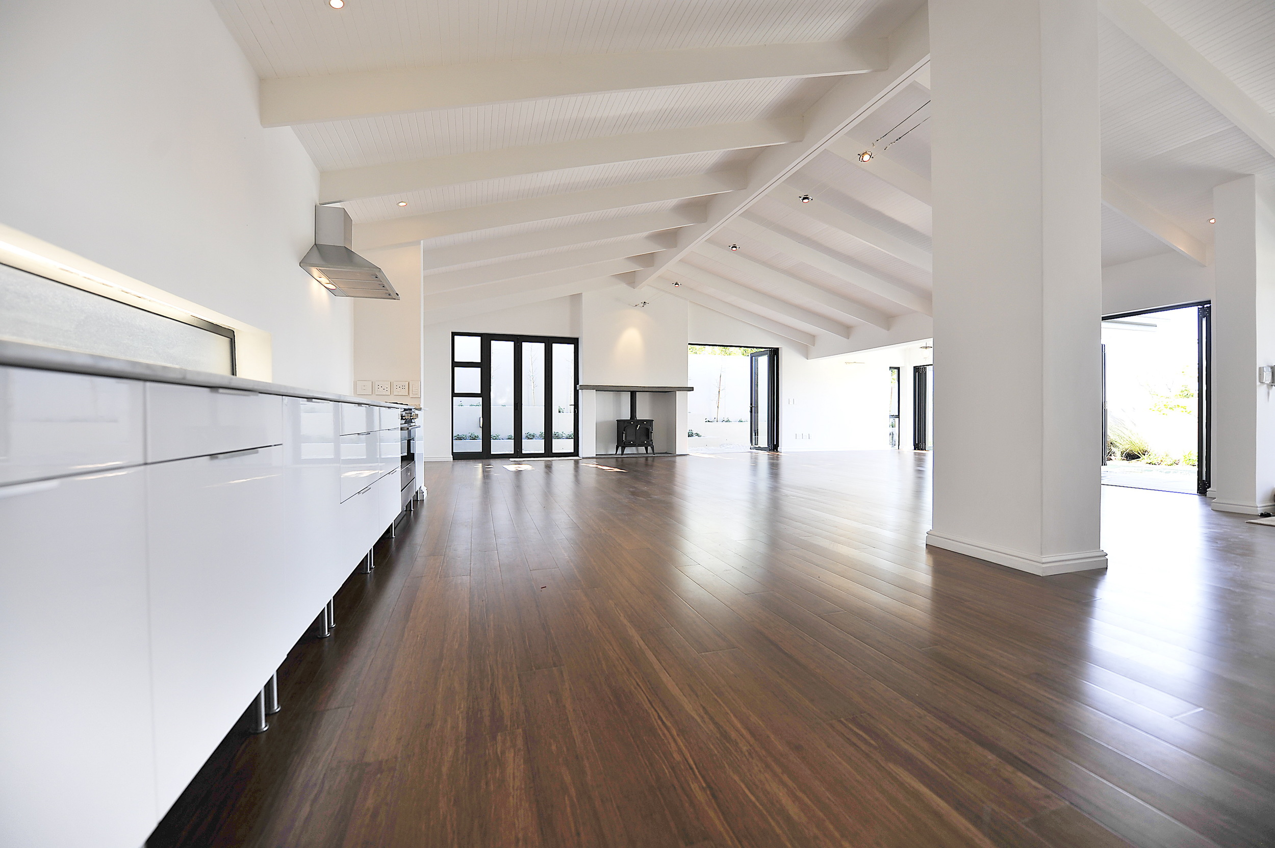 Strand Woven Carbonised Bamboo Flooring