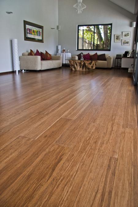 Green and modern Bamboo flooring