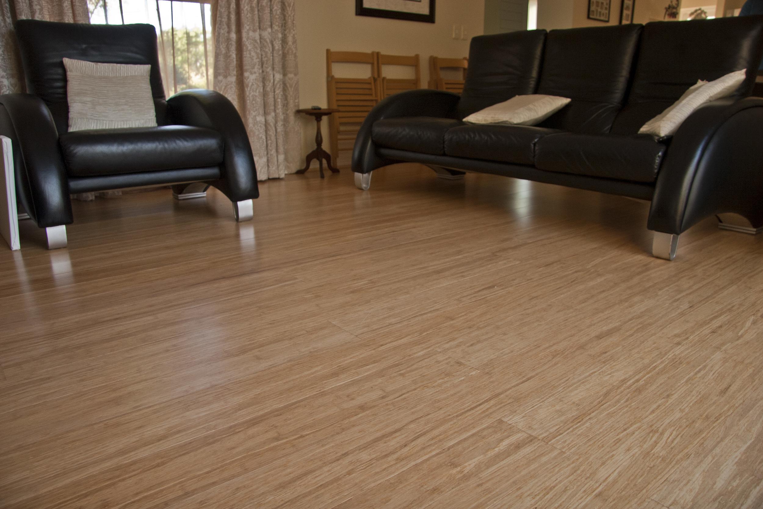 Natural Strand Woven Bamboo Flooring