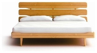Bamboo Platform Bed - 100% Bamboo. High quality.
