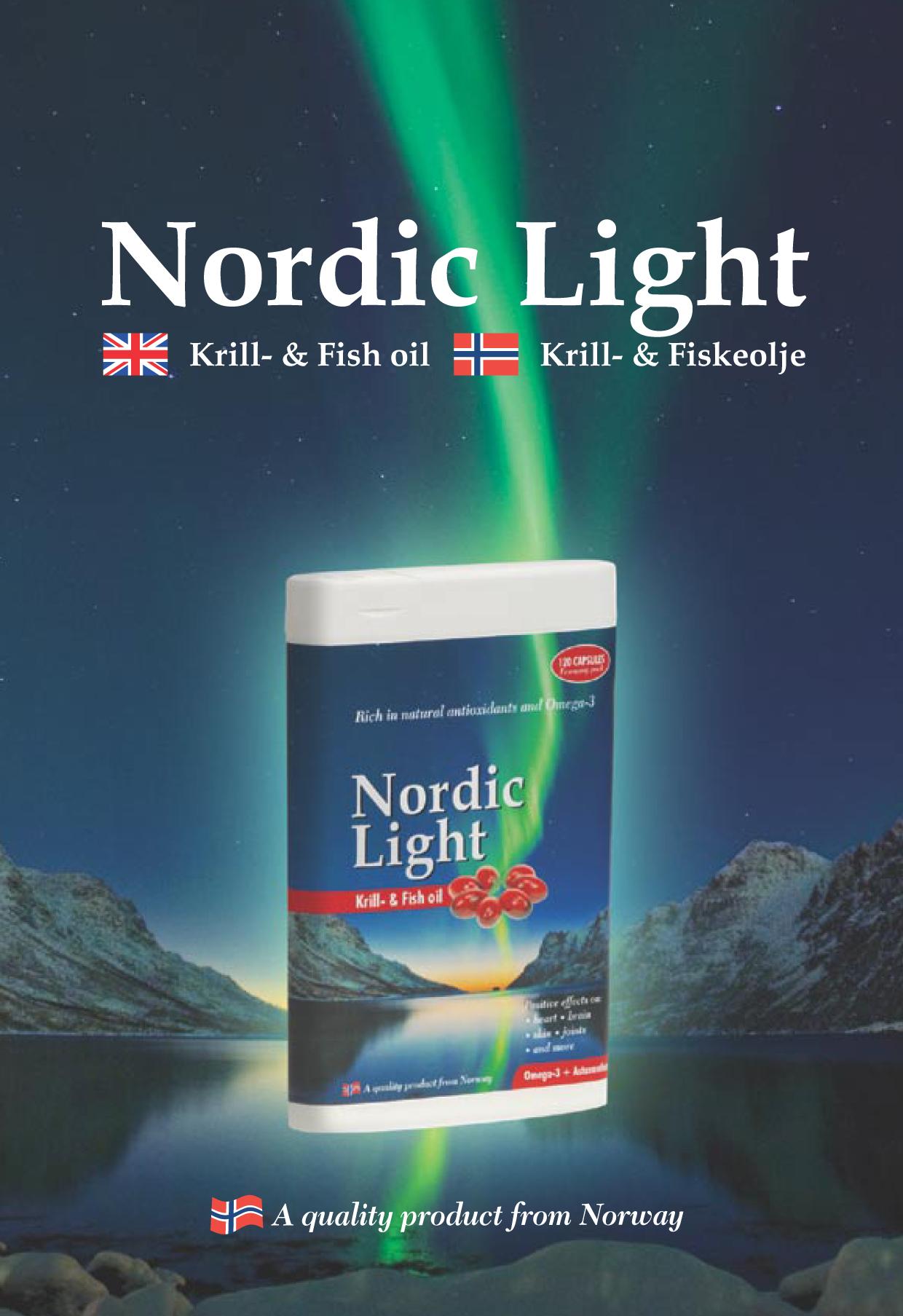 Nordic Light Krill- & Fish oil