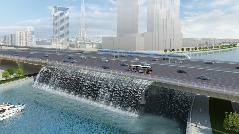 HG Dubai Water Canal Opening