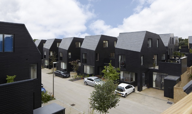 Newhall, Harlow by Alison Brooks shows innovative and well thought outdesign can successfully address the issues of the housing shortage without compromising on construction quality or basic living standards.