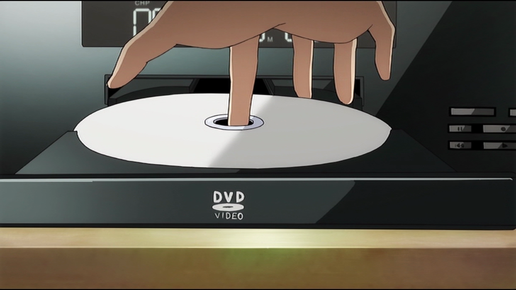 In case you were wondering what a DVD looks like