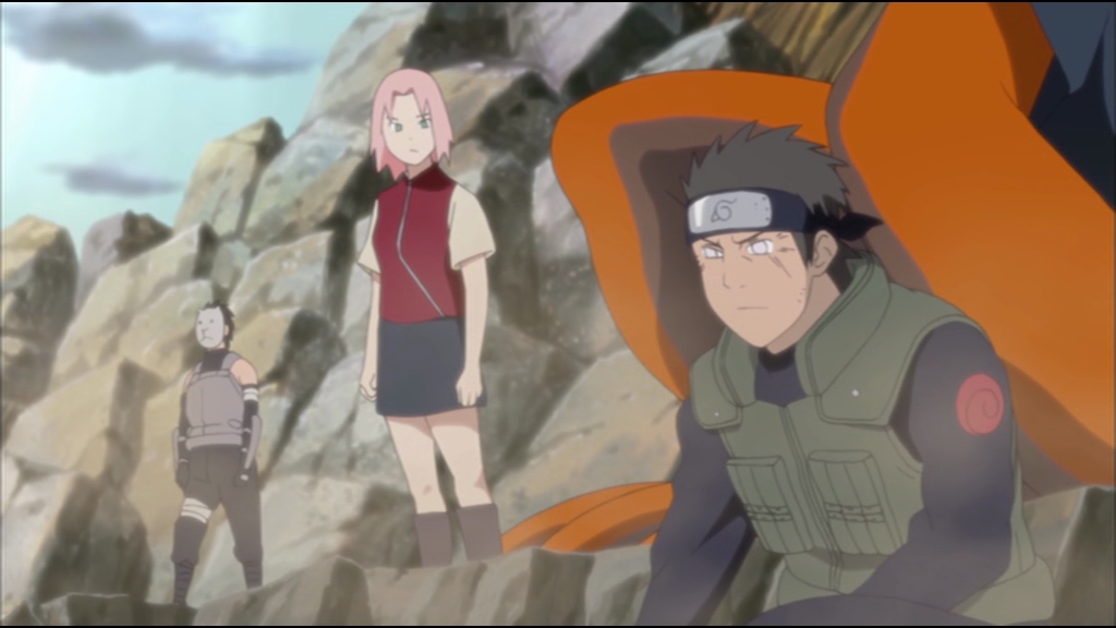 The one with the pink hair is the sexy one Naruto has a crush on