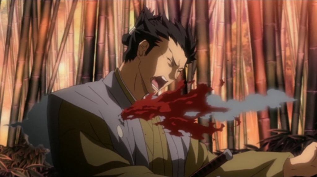 Ambushed! Isami Kondou takes a hit