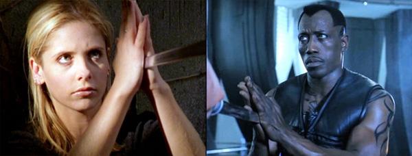 Buffy + Blade = Saya