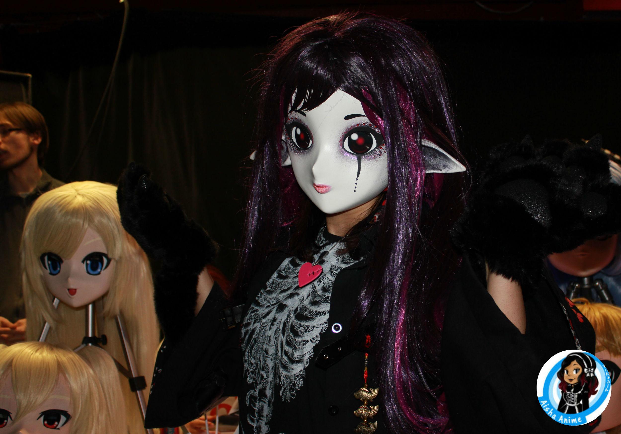 Charming Kitsune masks